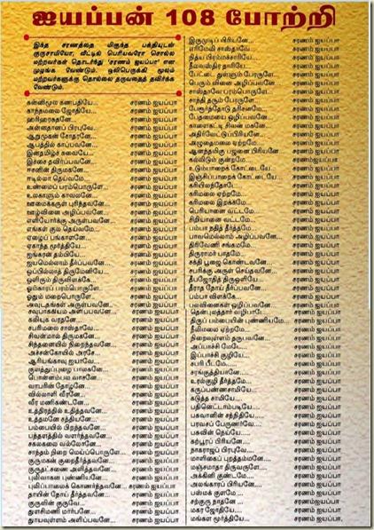 Sri Ayyappa Sharanu Gosha
